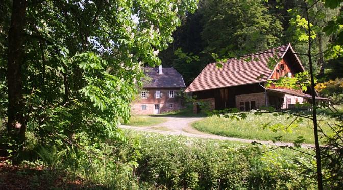 Forsthaus im Rohnbachtal bei Enzklösterle Foto: Geschichte zu Fuß; Wolfgang Wirtz