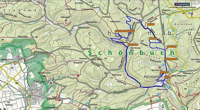 Wanderung von Bebenhausen durch den Naturpark Schönbuch | GESCHICHTE ZU FUSS - WANDERUNGEN DURCH