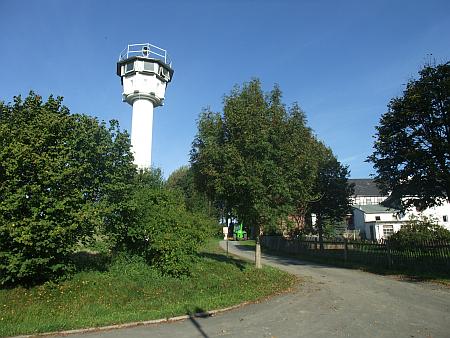 Wachtturm der ehemaligen DDR in Mödlareuth