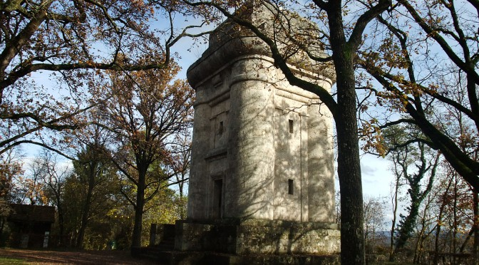 Der Bismarckturm in Tübingen - Wanderung Tübingen - Wurmlinger Kapelle