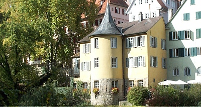 Der Hölderlinturm in Tübingen