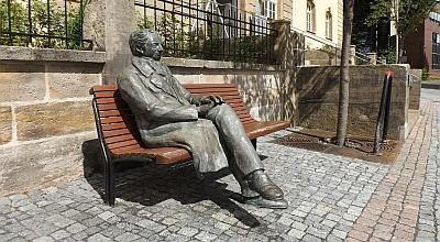 Goethe Denkmal in Ilmenau