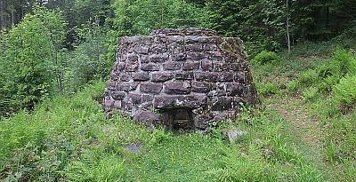 Salbeofen im Tonbachtal Wandern mit dem Wanderportal geschichte zu fuss.de