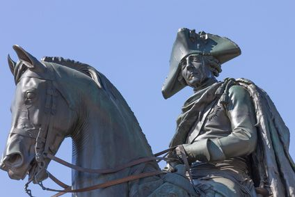 Friedrich II von Preußen, Friedrich der Große - © rumifaz/Fotolia.com