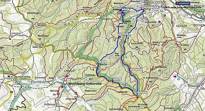 Wanderung von Eisenach über die Wartburg in die Drachenschlucht