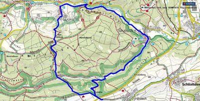 Wanderung von Walddorfhäslach nach Waldenbuch im Schönbuch