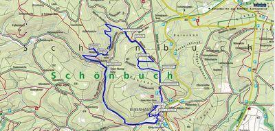 Wanderung von Bebenhausen durch den Schönbuch