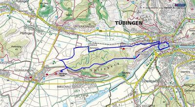 Wanderung von Tübingen zur Wurmlinger Kapelle