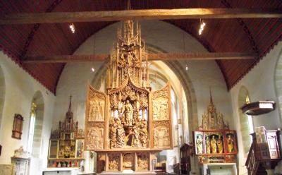 Riemenschneideraltar in der Herrgottskirche