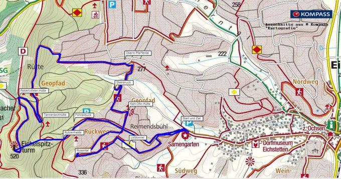 Kaiserstuhl - Wanderung auf dem Geopfad in Eichstetten