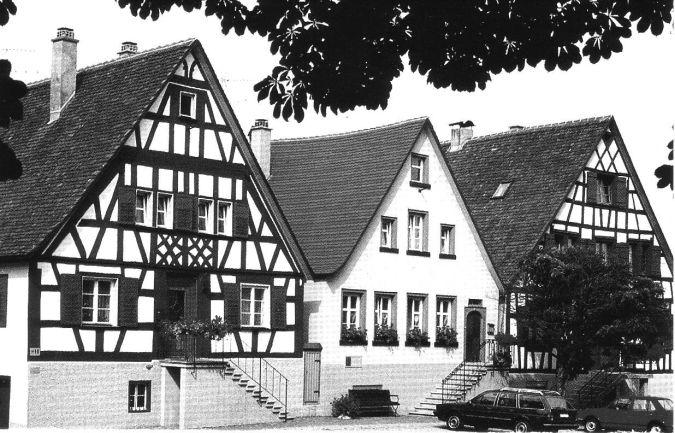 Das Elternhaus von Martin Heidegger in Meßkirch
