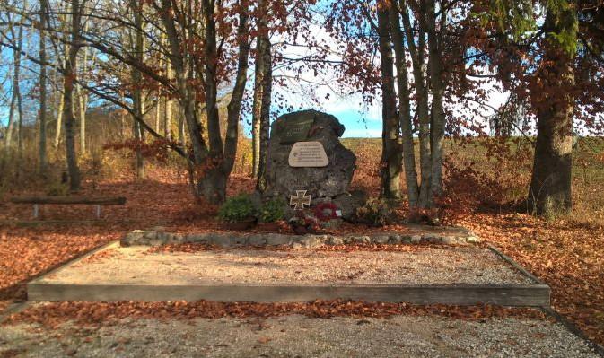 Rommel-Gedenkstein bei Herrlingen