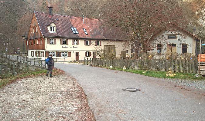 Rundwanderweg Herrlingen - Weidach - Lauterursprung - Herrlingen