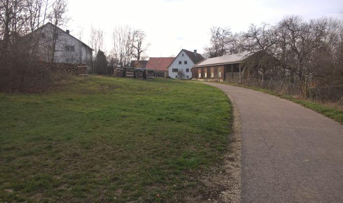 Rundwanderweg Herrlingen - Weidach - Lauterursprung, Kleines Lautertal - Oberherrlingen - Herrlingen