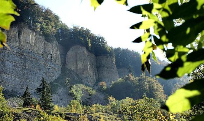 Schwäbische Alb Wanderung: Hirschkopf - Mössinger Bergrutsch -  © Schwäbische-Alb-Tourismus/Uwe Walz