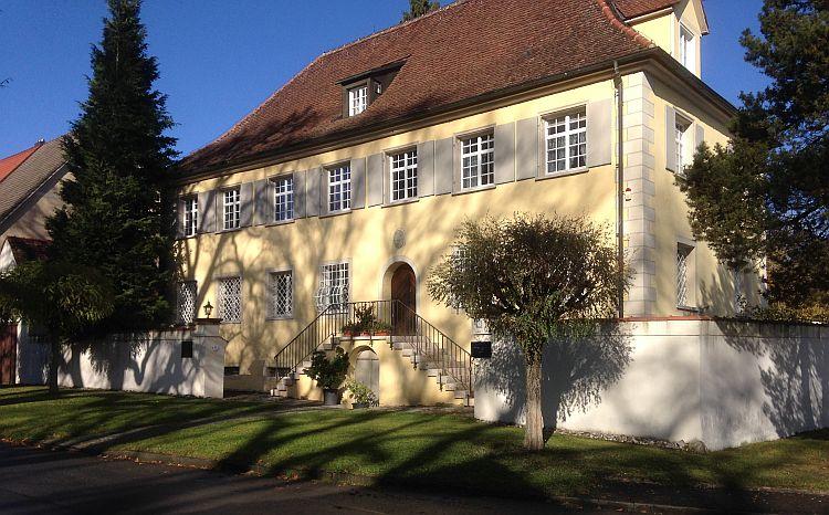 Das Ernst-Jünger-Haus in Wilflingen - © R. Stohp/Geschichte zu Fuß