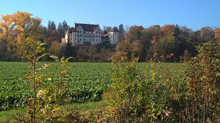 Einer der Stammsitze des Götz von Berlichingen - die Götzenburg in Jagsthausen