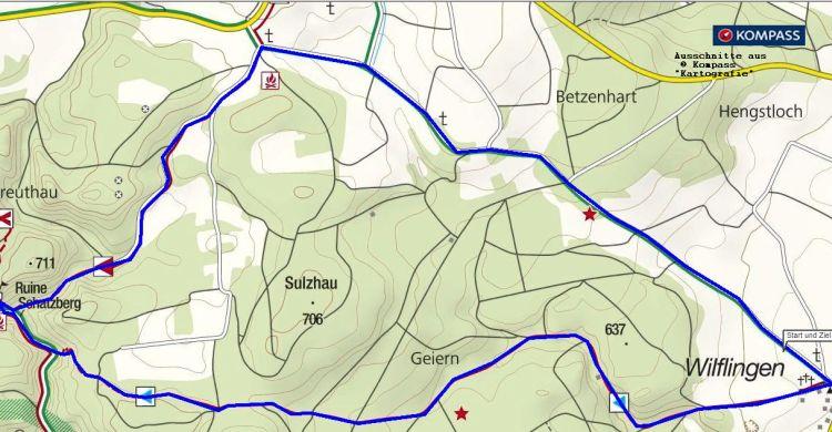 Wandern in Oberschwaben - Wilflingen