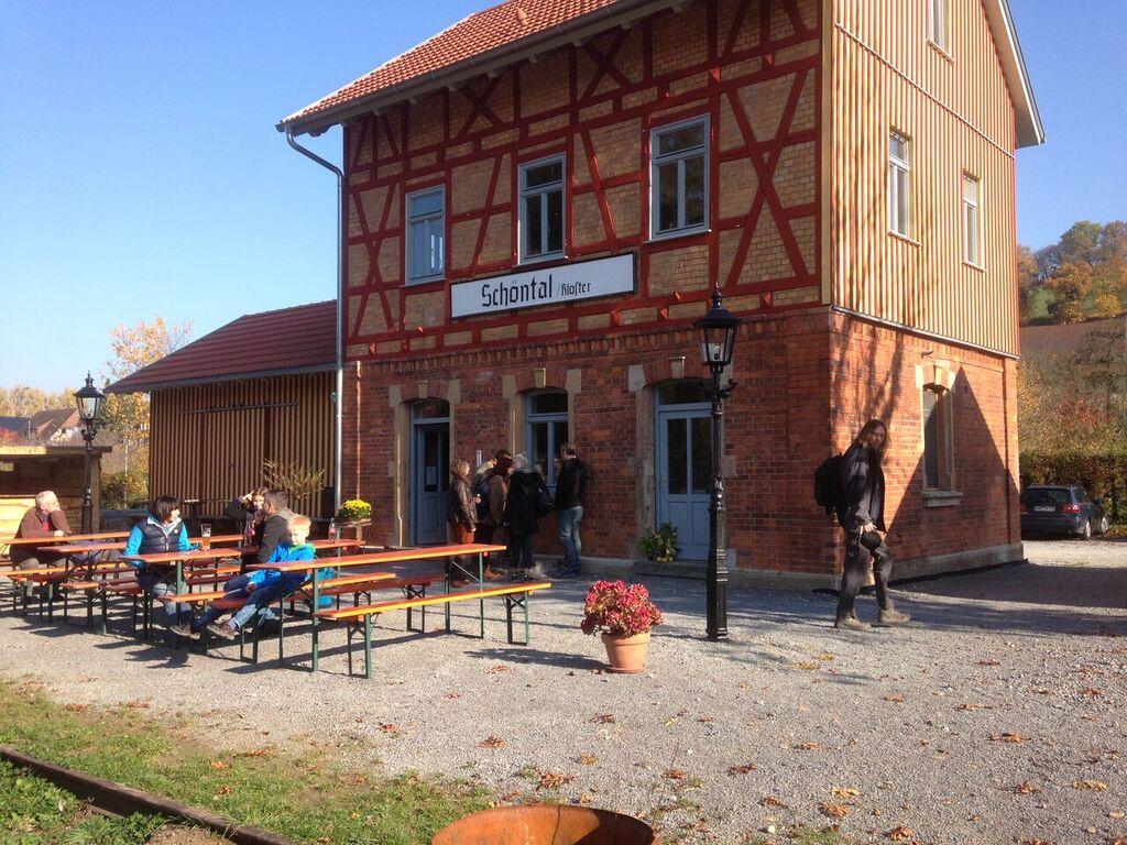 Kati's Bahnhof in Schöntal