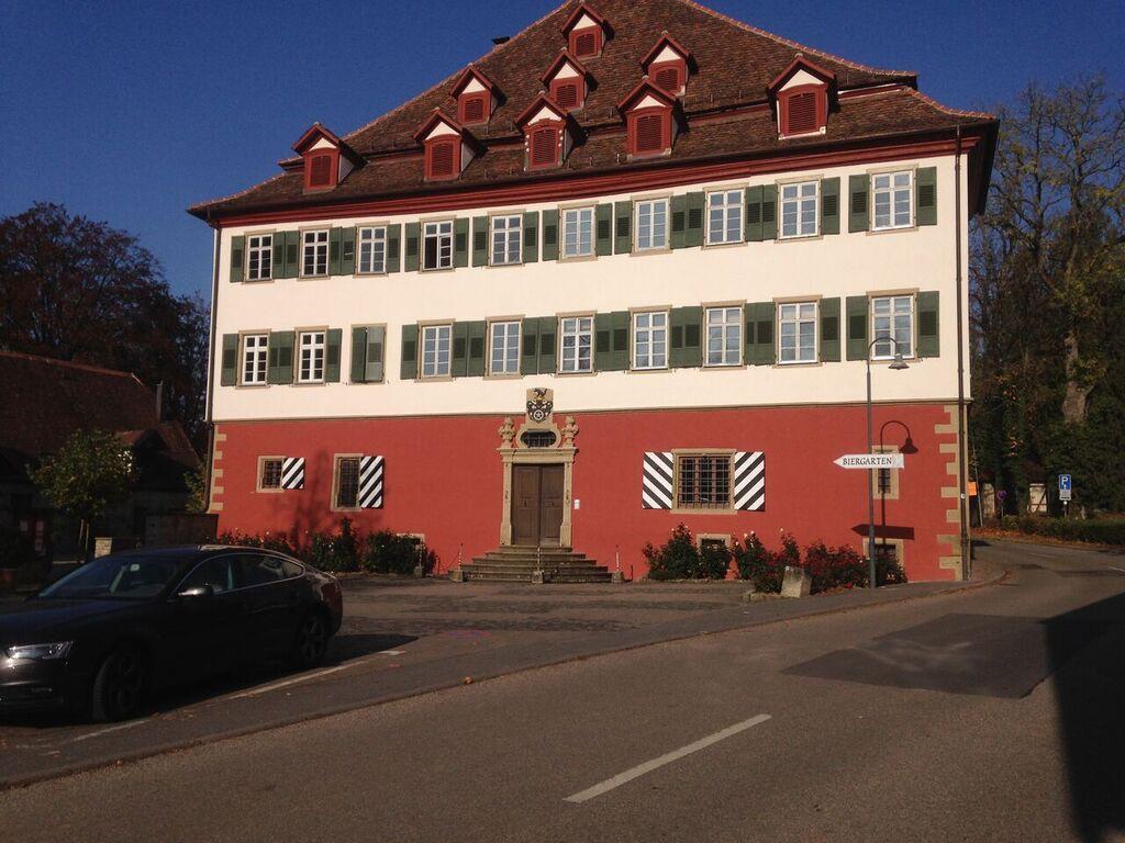 Das rote Schloss in Jagsthausen
