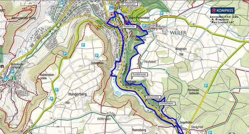 Wanderung von Geislingen/Steige auf die Schwäbische Alb