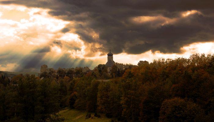 Wanderung in Marienberg / Erzgebirge