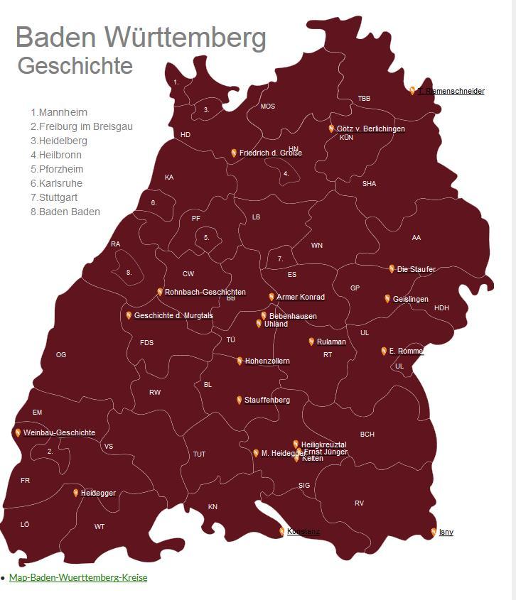 Geschichte und Geschichten von Baden-Württemberg