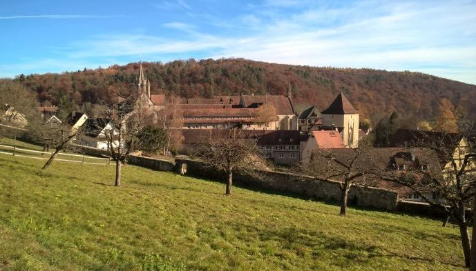 Das Kloster Bebenhausen bei Tübingen - ©W. Wirtz/geschichte-zu-fuss.de