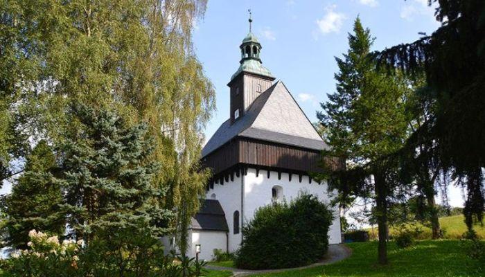 Wandern im Erzgebirge bei Marienberg