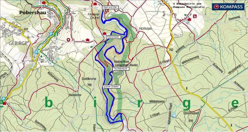 Wanderung Naturschutzgebiet Schwarzwassertal