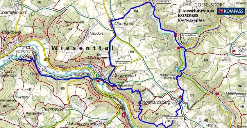 Fränkische Schweiz Karte.Fränkische Schweiz Unterwegs Im Wiesenttal Bei Streitberg