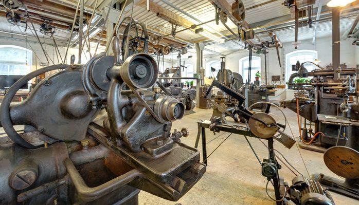 "Ausstellungen ""Böttcherfabrik""; Maschinenbaufabrik - © 360-Grad-Team"