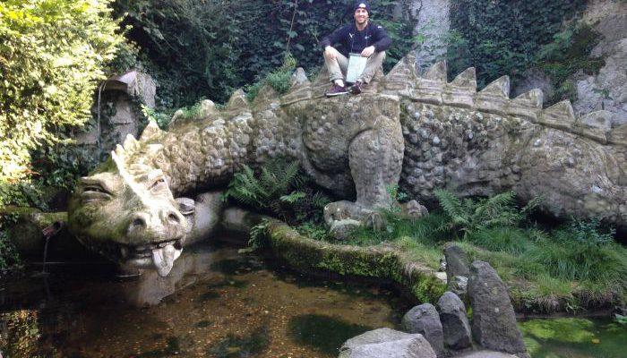 Wanderung Siebengebirge Drachenfels