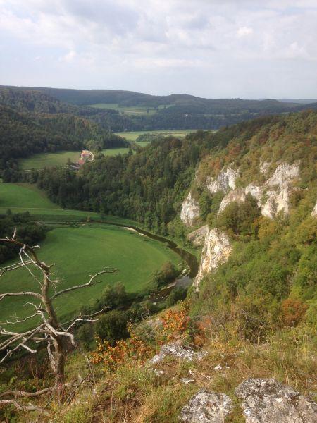 Wanderung Kloster Beuron, Obere Donau