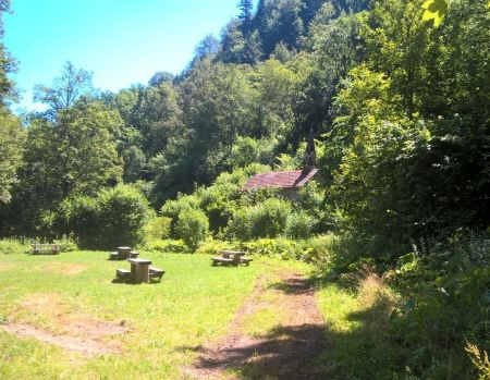 Wanderung Wutachschlucht im Schwarzwald bei Löffingen