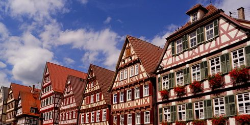 Altstadt von CALW ( Schwarzwald )