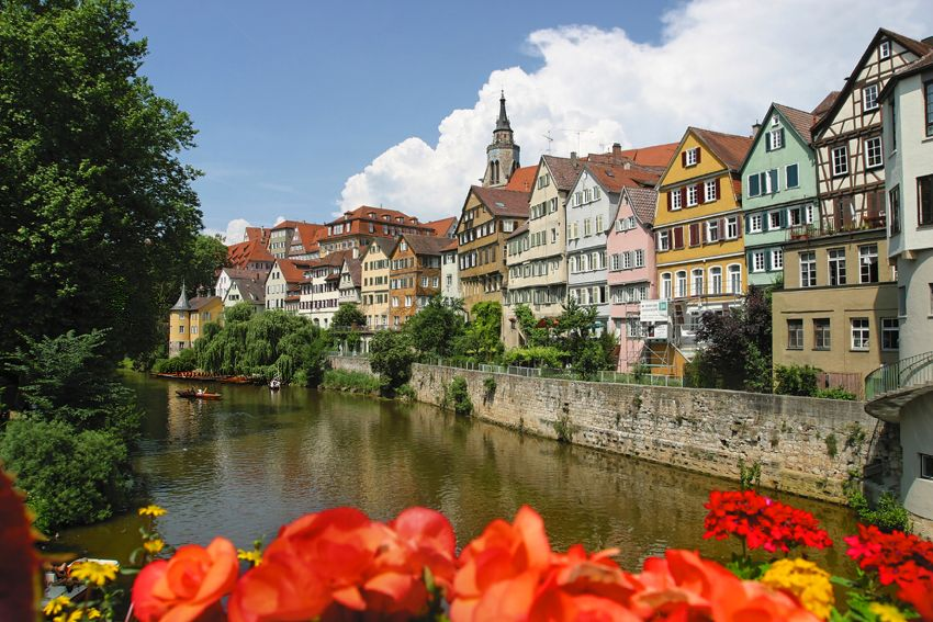 Hölderlin in Tübingen