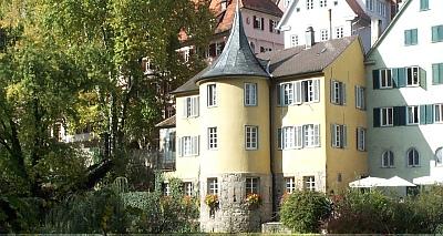 Hölderlins Jahre in Tübingen . Hölderlinturm Tübingen