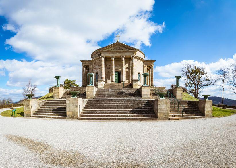 Stuttgart - die Grabkapelle der Württemberger. Die Geschichte der Württemberger erzählt auf geschichte-zu-fuss.de
