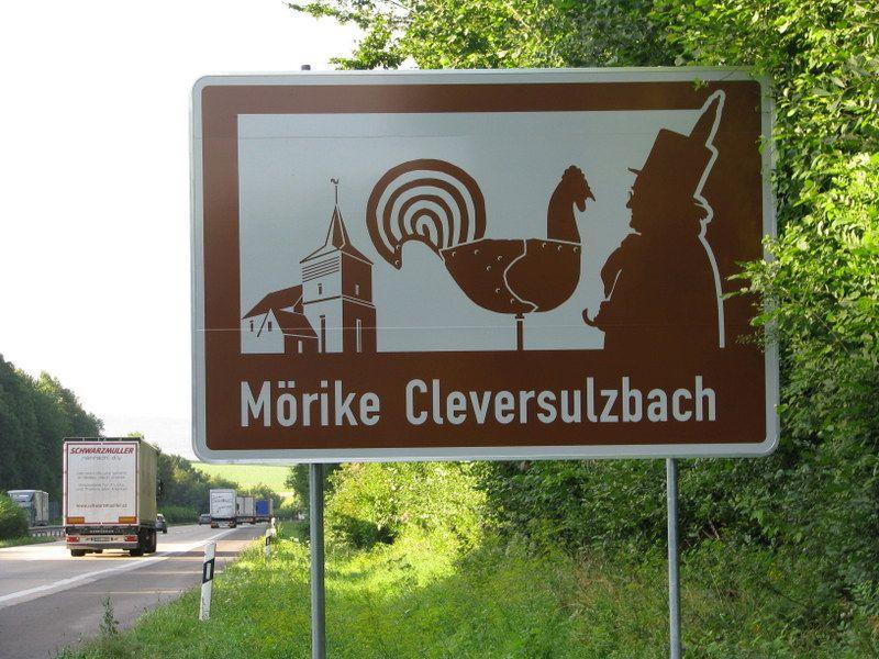 Eduard Mörike arbeitete einige Zeit in Cleversulzbach als Pfarrer