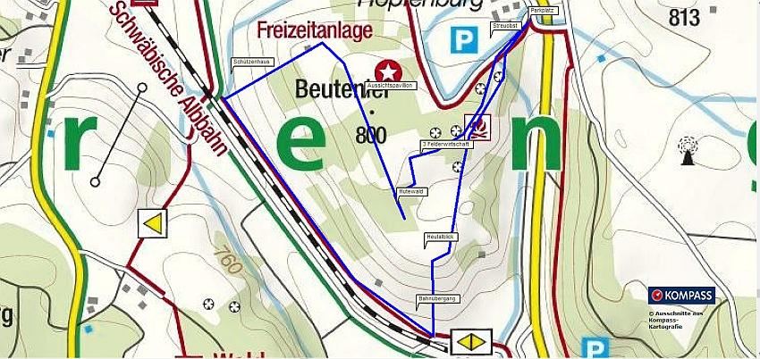 Familienwanderung - Wandern mit Kindern auf der Schwäbischen Alb bei Münsingen Beutenlay