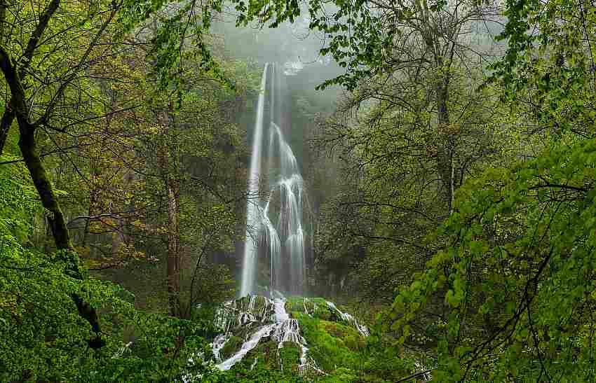 Der Uracher Wasserfall - Biosphärengebiet Schwäbische Alb, Premiumwanderweg