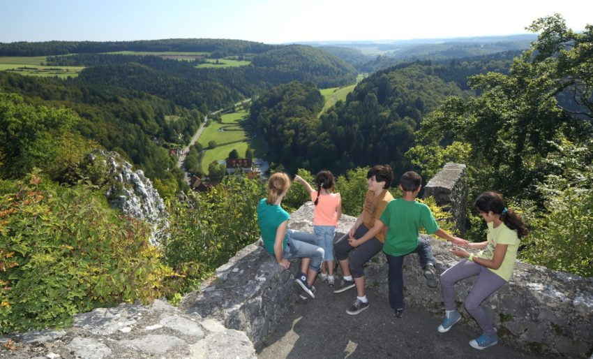 Wandern im Lautertal. Wanderungen im Biosphärengebiet Schwäbische Alb
